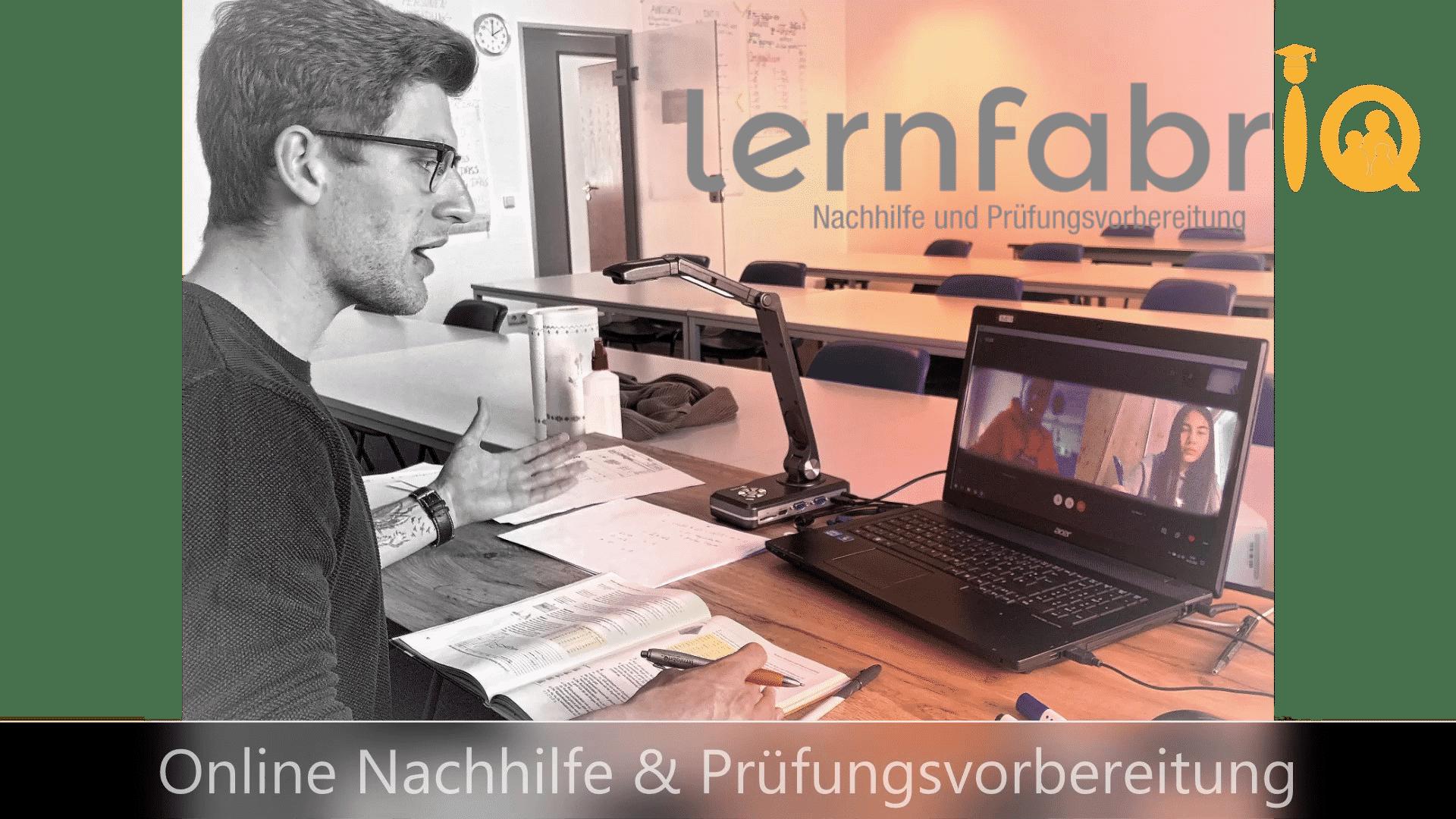 Onlineunterricht und Onlinenachhilfe mit der lernfabriQ Kempten