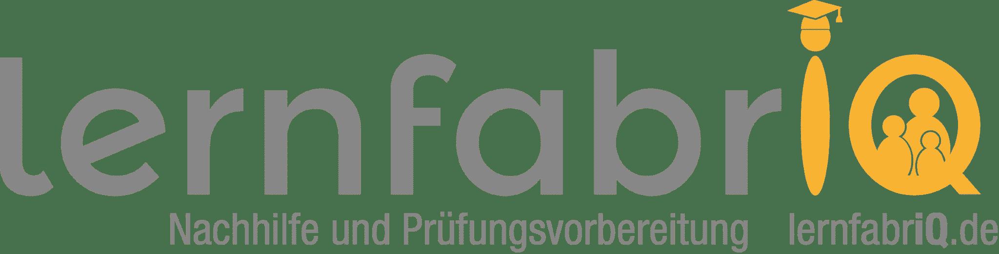 Logo lernfabriQ Kempten, Nachhilfe und Prüfungsvorbereitung